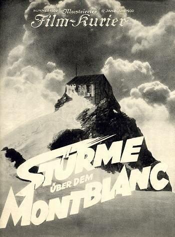 Бури над Монбланом (1930)