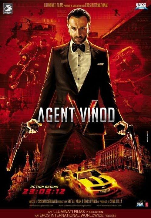 Агент Винод (2012) - смотреть онлайн
