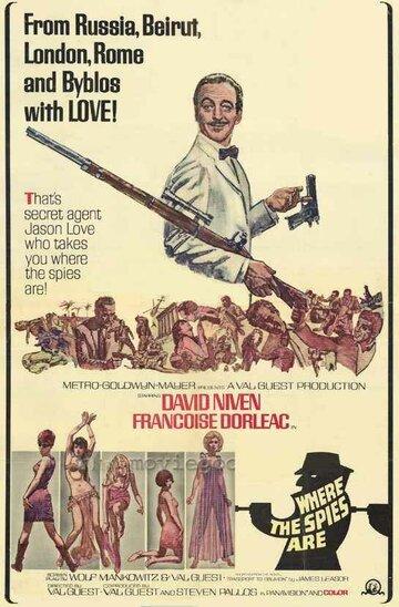 Там, где шпионы (1966)