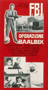 F.B.I. operazione Baalbeck (1964)