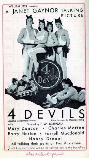 Четыре дьявола (1928)
