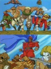 Уличный боец: Анимация (1995)