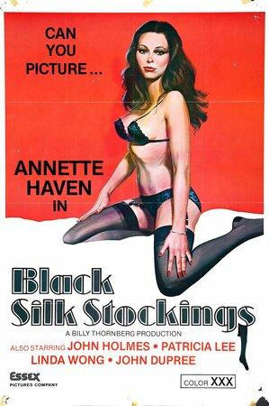 Black Silk Stockings