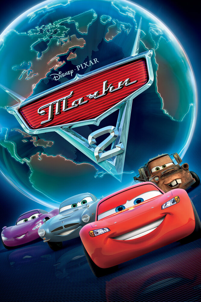 Тачки 2 / Cars 2 (2011/BDRip)
