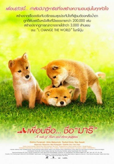 Скачать дораму История Мари и трех щенков Mari To Koinu No Mongatari