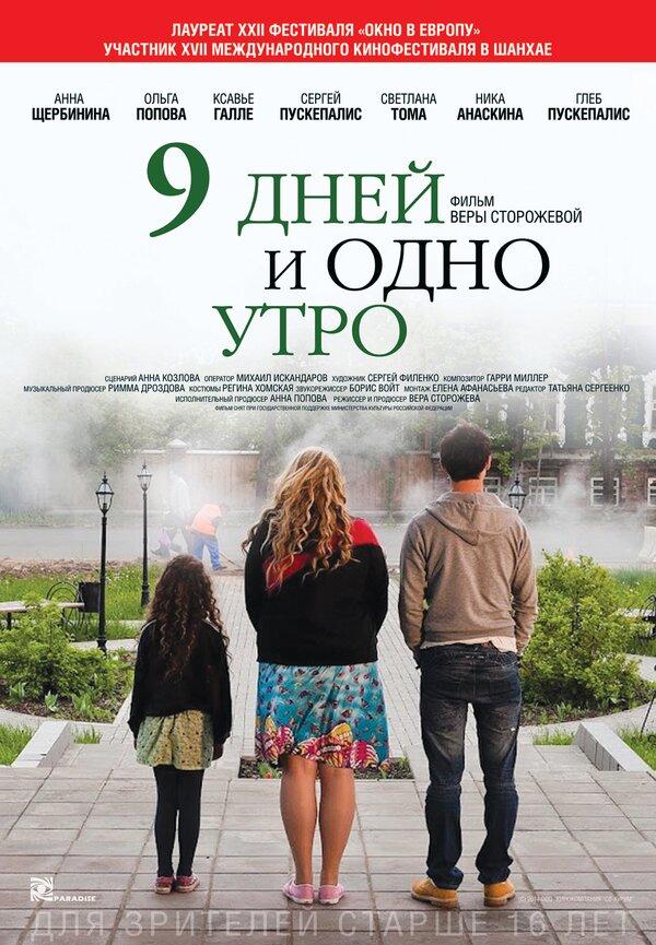 Отзывы к фильму – 9 дней и одно утро (2014)