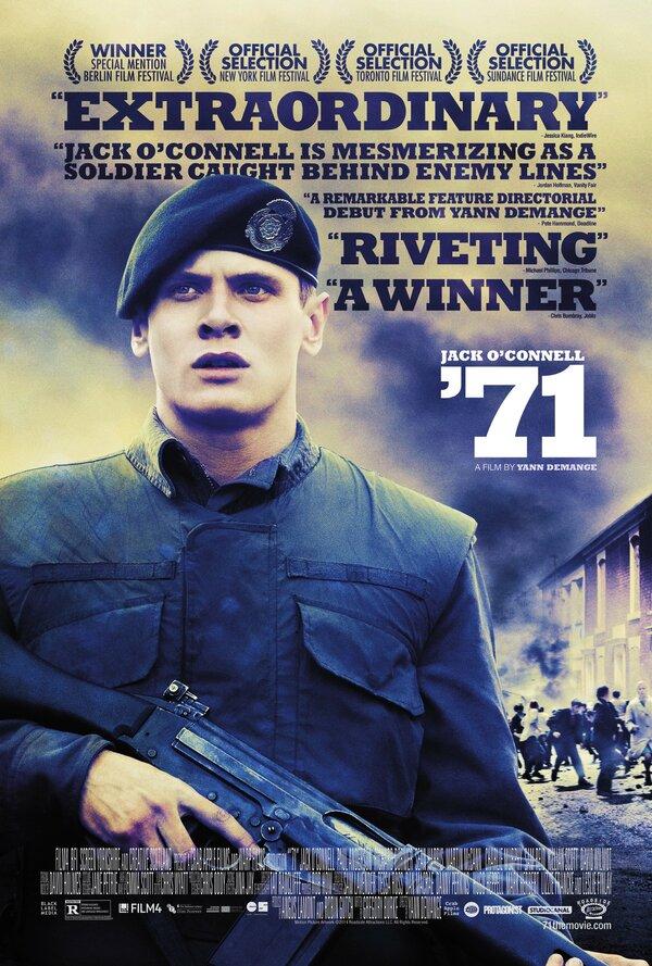 Отзывы к фильму – 71 (2014)