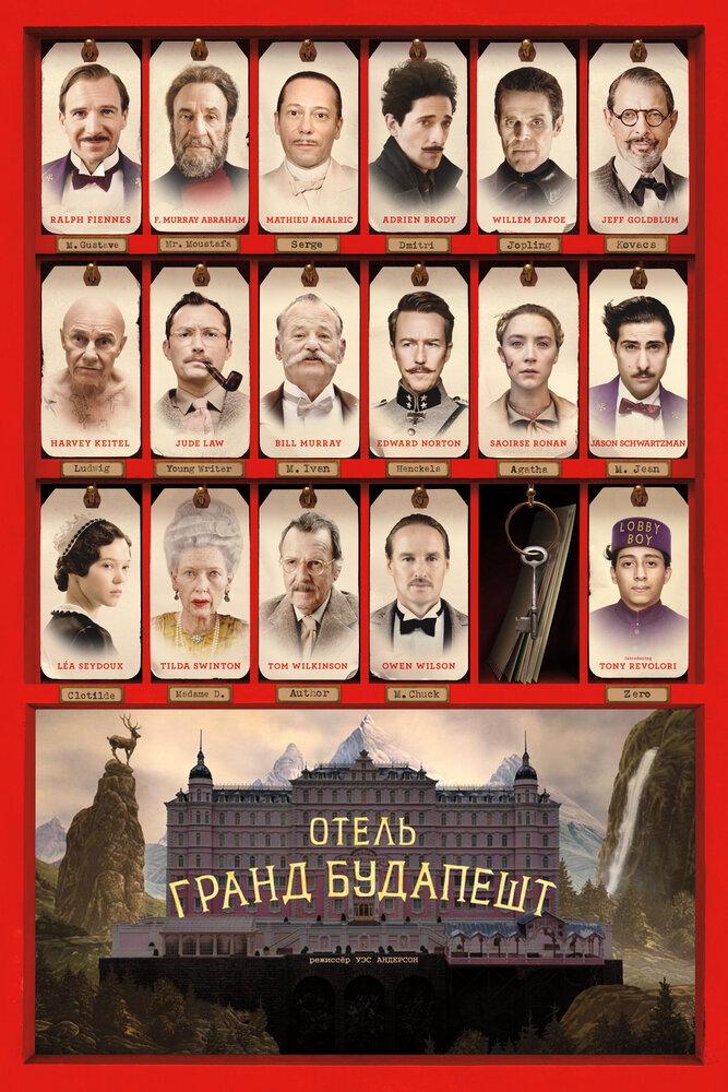 Отзывы к фильму — Отель «Гранд Будапешт» (2014)