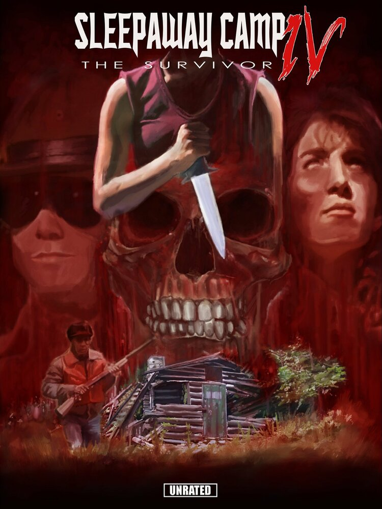 Спящий лагерь 4 1992 Sleepaway Camp IV: The Survivor Фильм ужасов