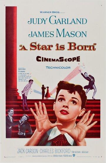 Постер к фильму Звезда родилась (1954)