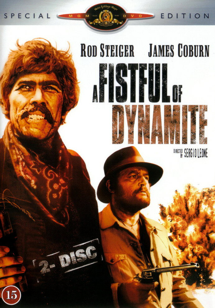За пригоршню динамита / Giu la testa / A Fistful of Dynamite (1971) HDTVRip
