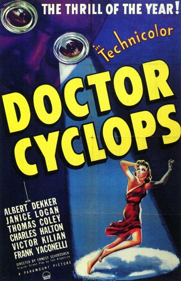 Доктор Циклоп (1940) смотреть онлайн в хорошем качестве