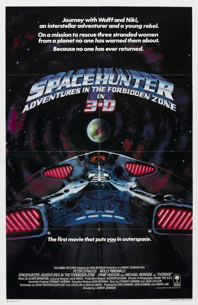 Космический охотник: Приключения в запретной зоне / Spacehunter: Adventures in the Forbidden Zone (1983)