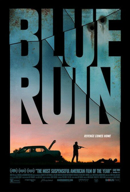 blue poster