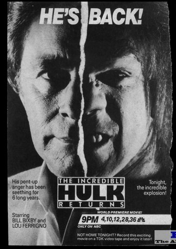 Невероятный Халк: Возвращение (1988)