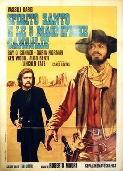 Святой дух и 5 ублюдков (1972)