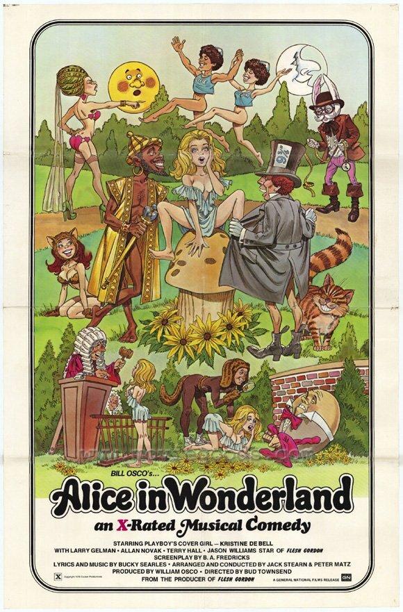 Алиса в стране чудес порнофильм 2000