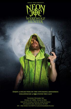 Неоновый Джо – Охотник на оборотней (2015)