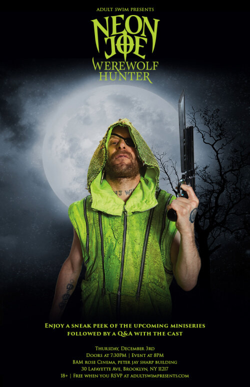 Неоновый Джо – Охотник на оборотней / Neon Joe, Werewolf Hunter (2015)
