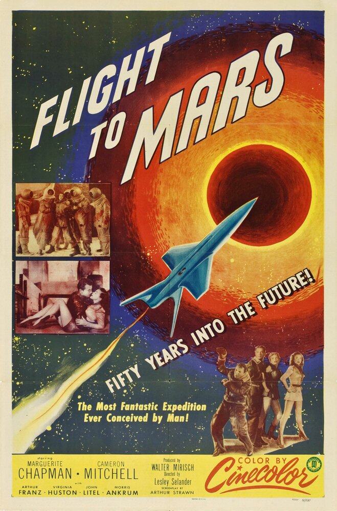 Полет на Марс (1951) смотреть онлайн в хорошем качестве