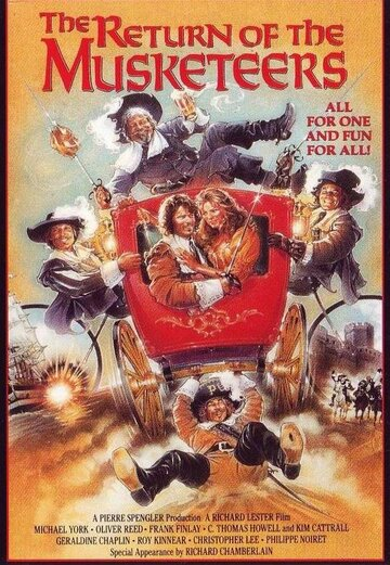 Возвращение мушкетеров / The Return of the Musketeers (1989)