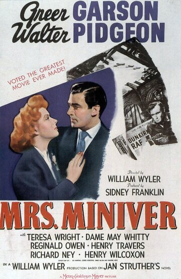 Миссис Минивер (1942) полный фильм онлайн