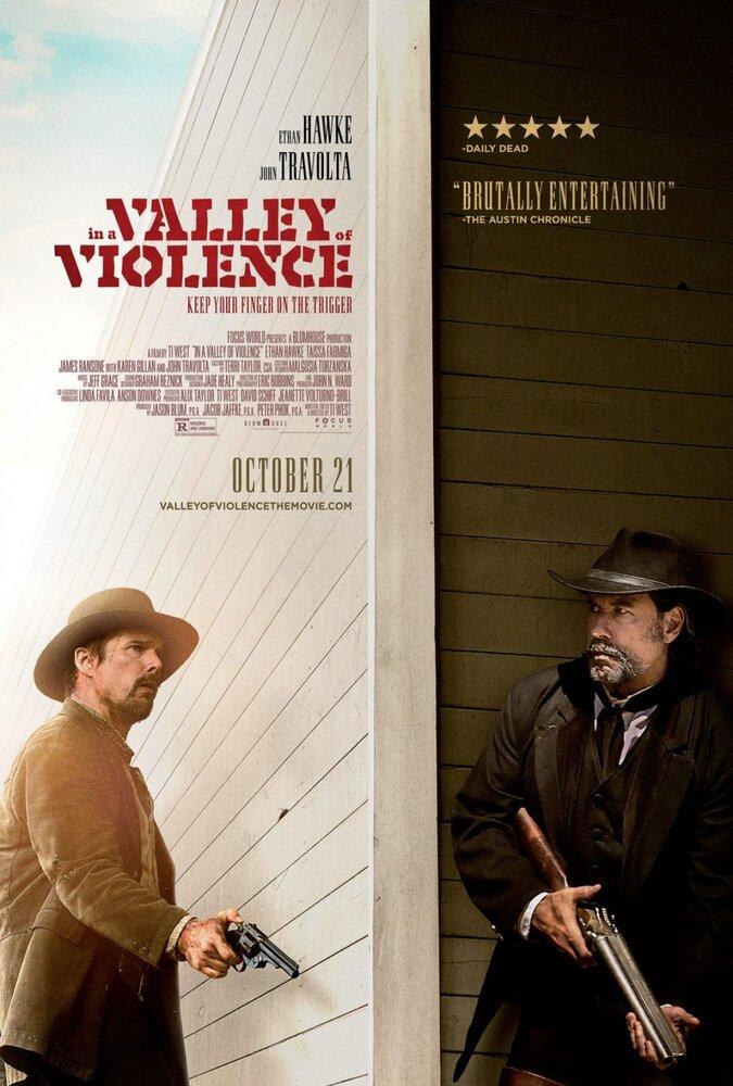 В долине насилия | In a Valley of Violence | Смотреть онлайн HD