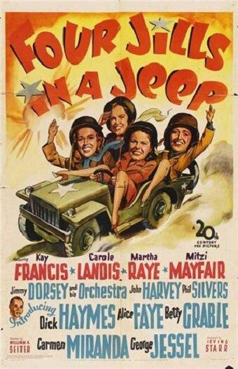 Четыре девушки в джипе (1944)
