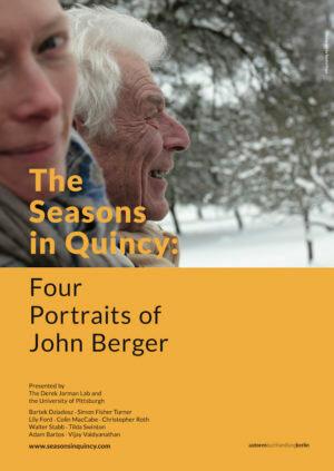 Фильм Времена года в Кенси: 4 портрета Джона Берджера