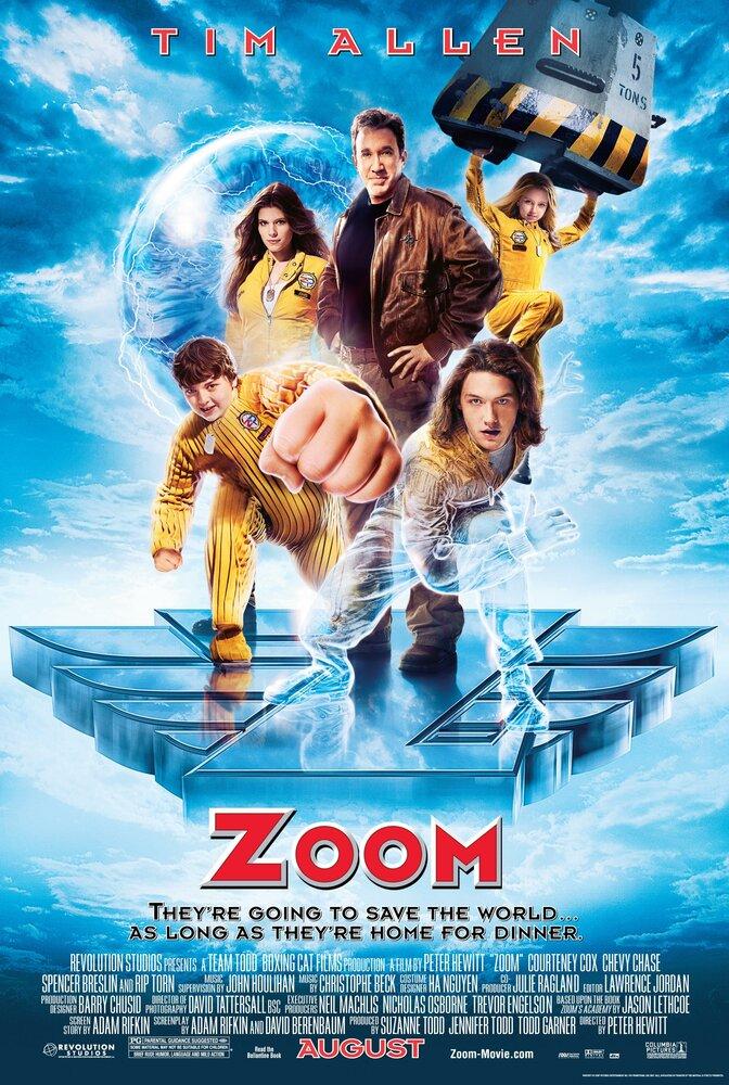 Капитан Зум: Академия супергероев / Zoom (2006)