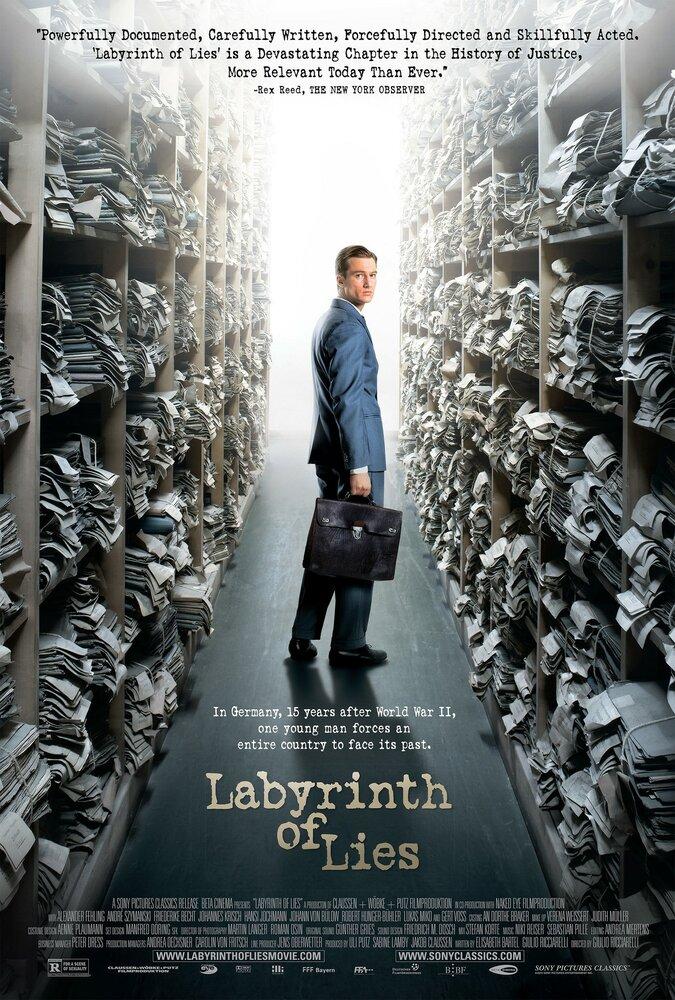 В лабиринте молчания / Im Labyrinth des Schweigens (2014) смотреть онлайн