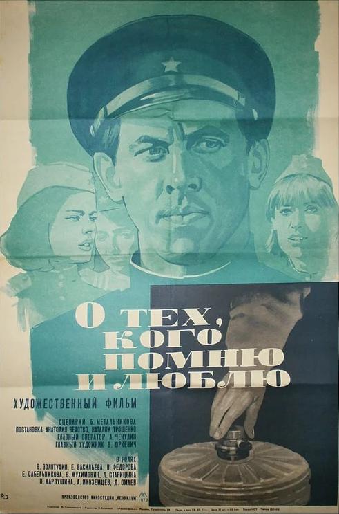 Фильмы О тех, кого помню и люблю