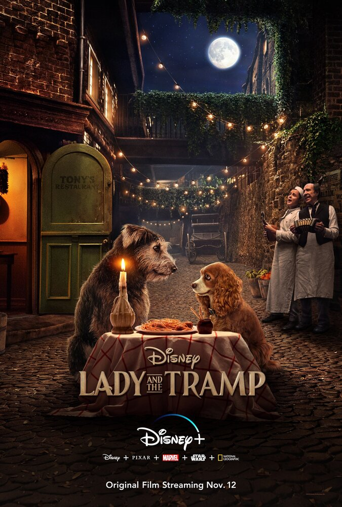 Леди и Бродяга (2019) - Lady and the Tramp смотреть онлайн