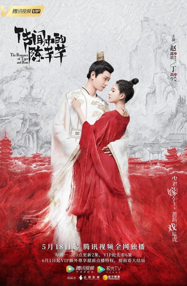 1380122 - Роман тигра и розы ✦ 2020 ✦ Китай