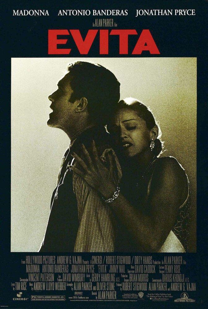 Эвита (1996) смотреть онлайн в хорошем качестве