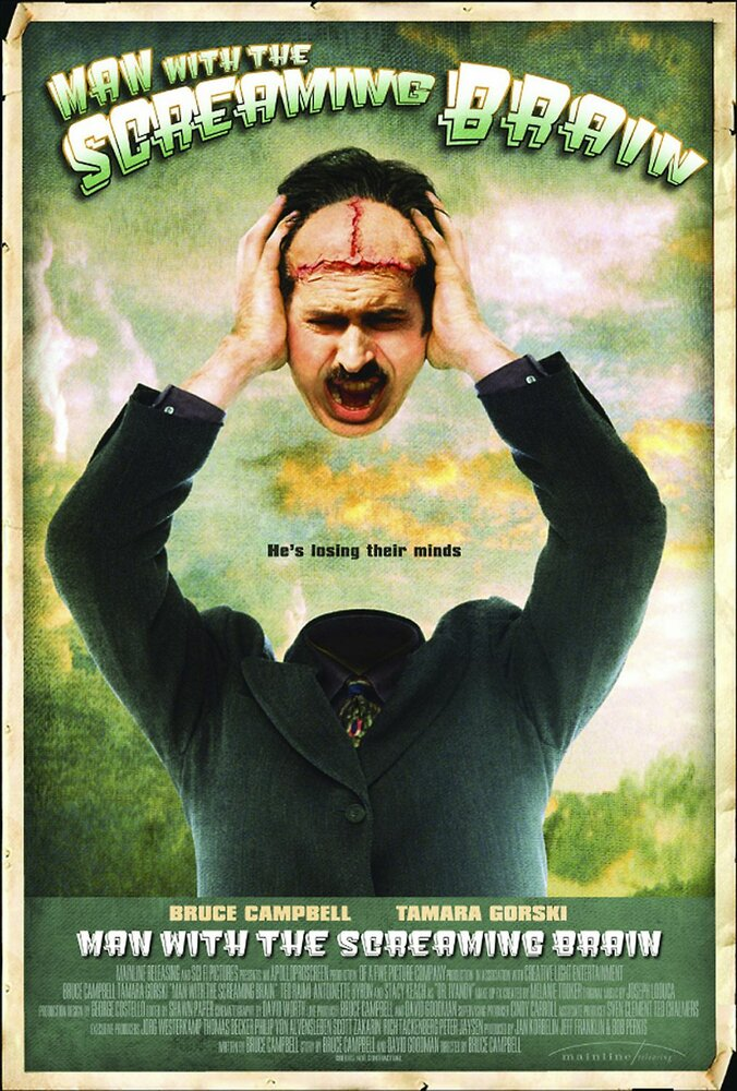 Человек с кричащим мозгом / Man with the Screaming Brain (2005)