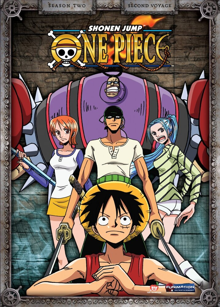Постер к аниме сериалу Ван-Пис (1999)