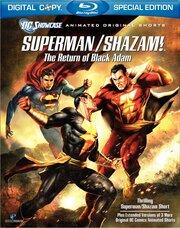 Смотреть онлайн Витрина DC: Супермен/Шазам! – Возвращение черного Адама
