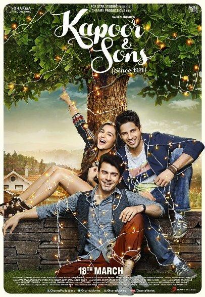 капур и сыновья индийский фильм смотреть онлайн 2016