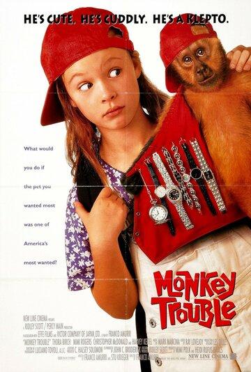 Постер к фильму Неприятности с обезьянкой (1994)