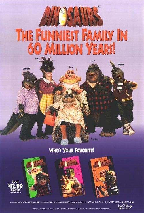Динозавры / Dinosaurs (1991)