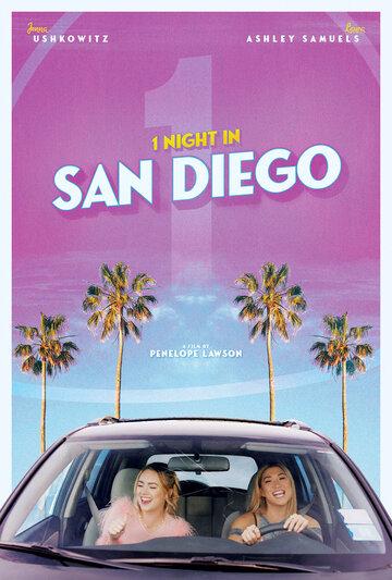 Постер к фильму Одна ночь в Сан-Диего (2020)