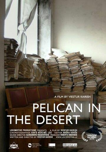Пеликан в пустыне