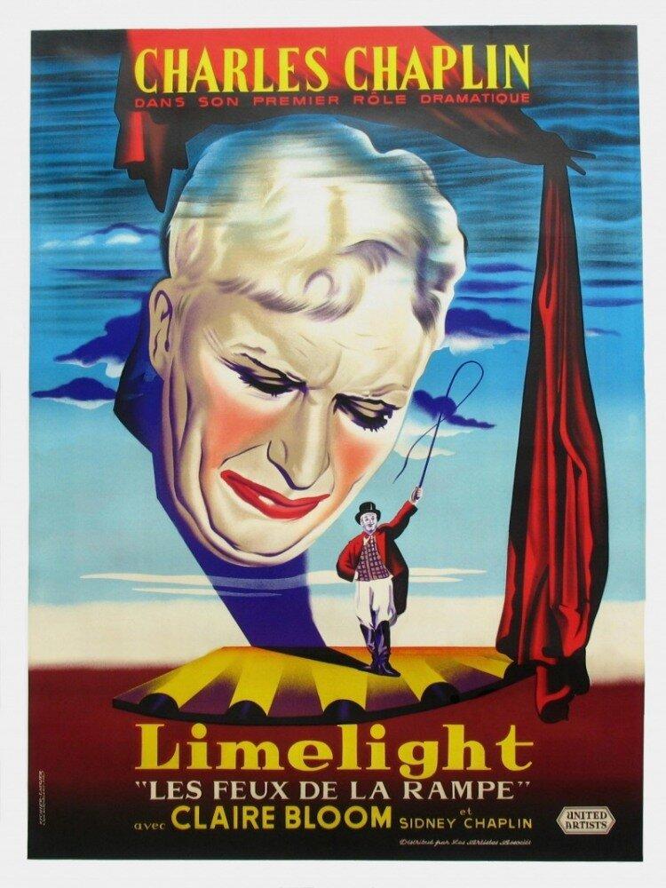 Огни рампы (1952) смотреть онлайн