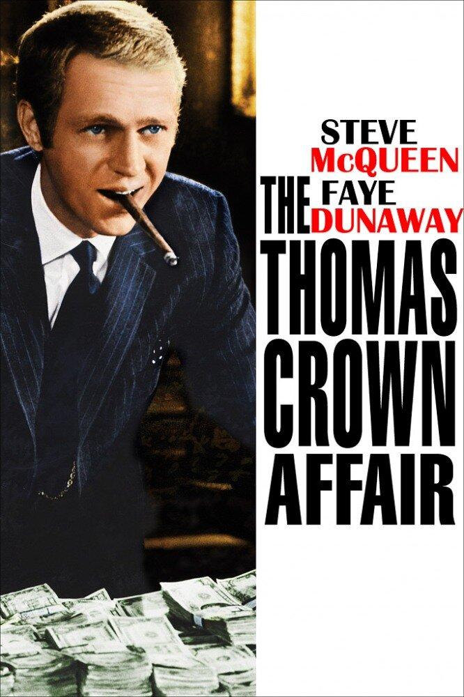 Афера томаса крауна / the thomas crown affair (1968/bdrip) 1080p.