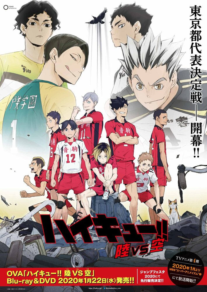 Постер Волейбол OVA-3 2020