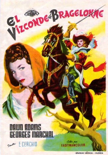 Виконт Де Бражелон (1954)