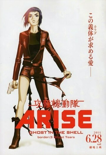 (Ghost in the Shell Arise: Border 3 - Ghost Tears)