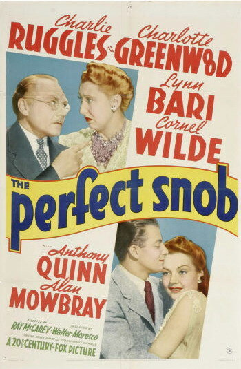 Великолепный сноб (1941)