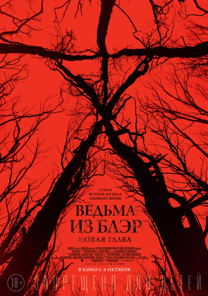 Отзывы к фильму – Ведьма из Блэр: Новая глава (2016)